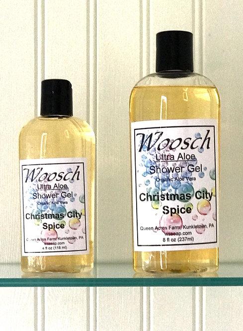 Christmas City Spice Shower Gel