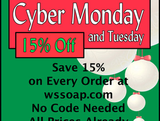 Cyber Monday-Tuesday
