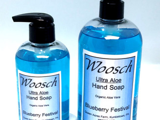 Blueberry Hand Soap is Back!!