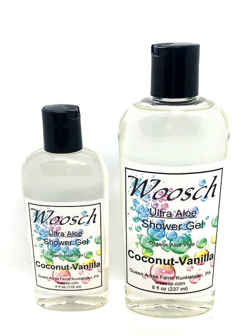 Coconut-Vanilla Shower Gel