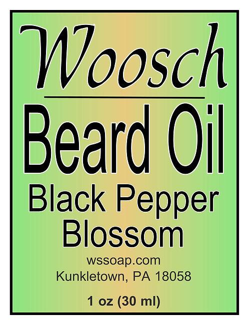 Black Pepper Blossom Beard Oil