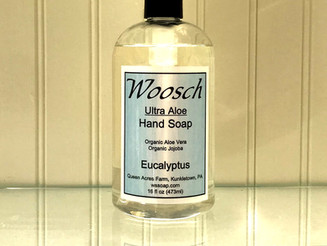 Eucalyptus Hand Soap is Here