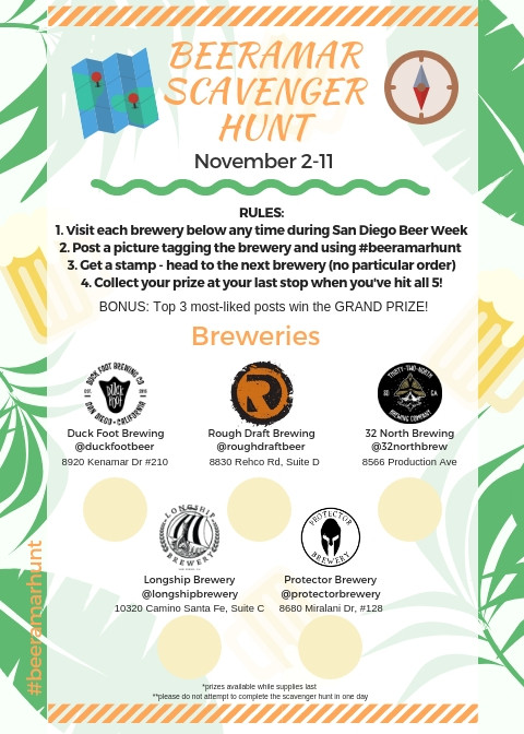 San Diego Beer Week 2018 at Longship Brewery