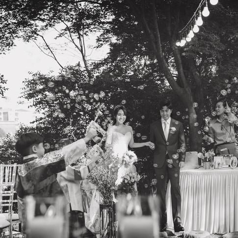Korean-style house wedding