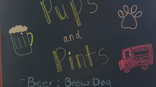 Pups and Pints this Friday!