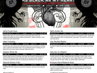 As Black As My Heart!