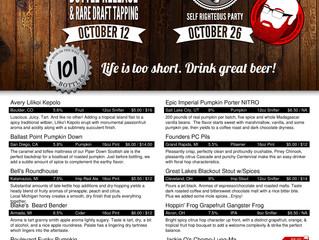 New Beers 10-19-16