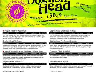 Dogfish Head 1.30.19!!!!
