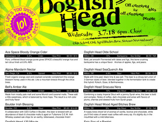 Dogfish Head, Bettys Bomb Ass Burgers & More
