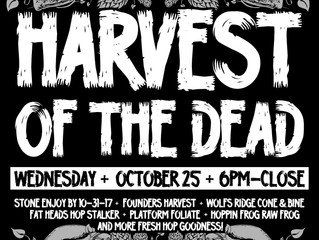 Harvest of the Dead & New Arrivals