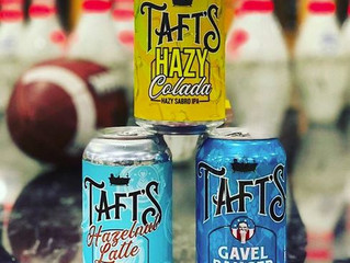 Tafts Brewing Co is up here!