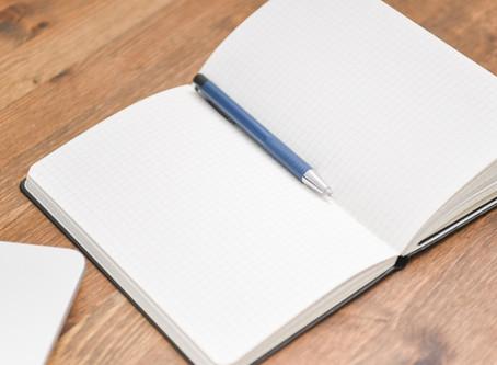 日記など使いながら
