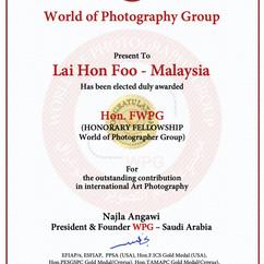 32-Diploma- Lai Hon Foo -Malaysia -Hon.F