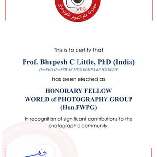 8- Prof. Bhupesh C Little, PhD (India) H