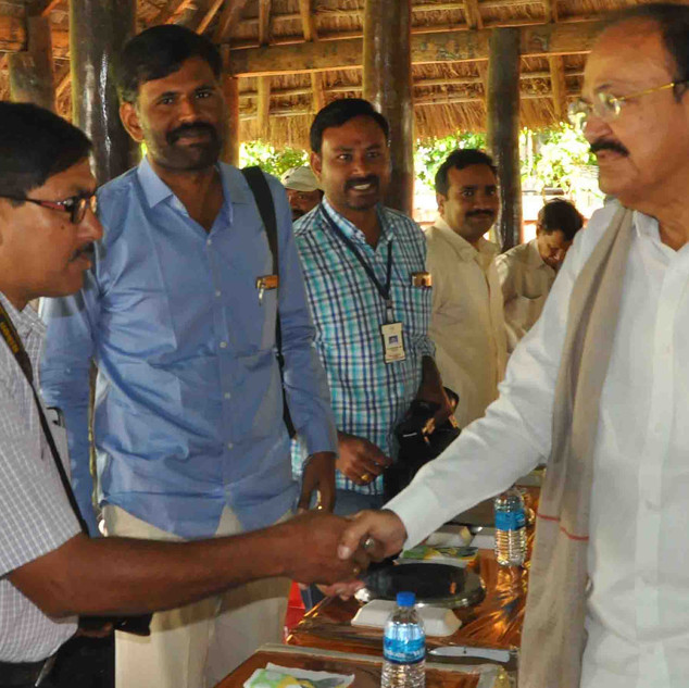 WITH HONORABLE VICE -PRESIDENT SRI MUTTA