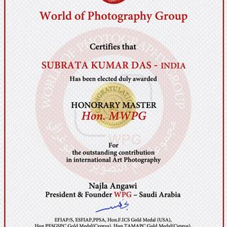 16-SUBRATA KUMAR DAS - INDIA -Hon.MWPG 2
