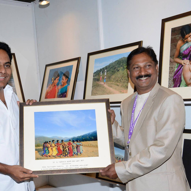 WITH KTR - (IT-MINISTER-GOVT OF TELANGAN