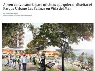 CONCURSO PARQUE URBANO LAS SALINAS EN RADIO BIOBIO VALPARAÍSO