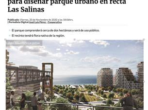 CONCURSO PARQUE URBANO LAS SALINAS EN RADIO COOPERATIVA