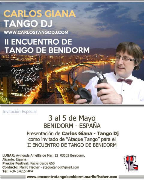 CARLOS TANGO DJ BENIDORM