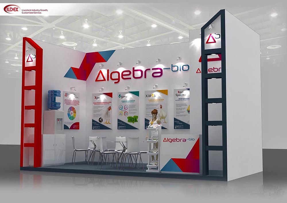 Algebra Booth ILDEX Indonesia 2017