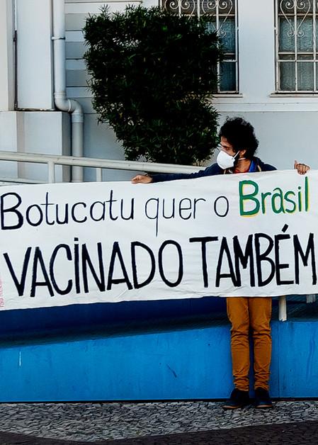 Vacinação em massa Botucatu