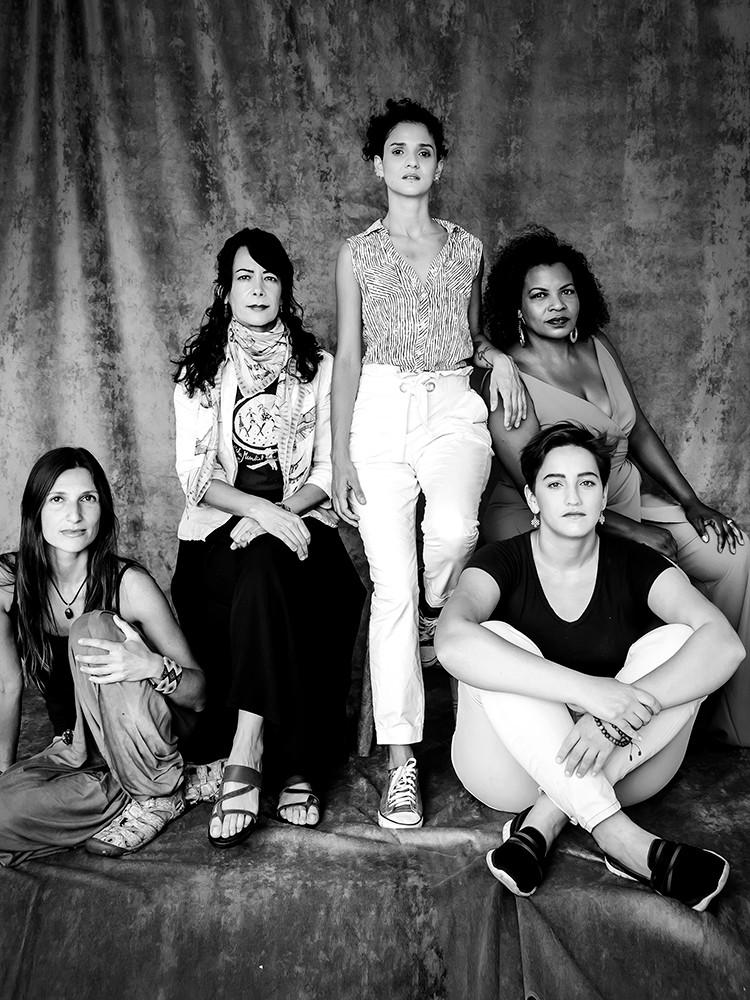 Ana Paula , Beatriz Stamato , Thalita Tavares , Edilene Arruda e Caroline Lopes