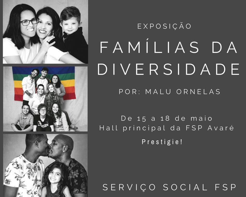 É o amor que faz uma família! Cada família é única, as novas famílias são realidades, estão solidificadas e merecem respeito. Nada justifica a discriminação e preconceito. Deixemos que todas as famílias sejam felizes, cada qual a sua maneira. Nossa família existe!