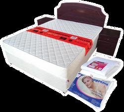 Bedbase, Headboard, Side Cabinets, Pillow, Mattress protector