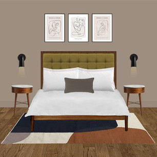 Hotel room design ideas using Dulux Brave Ground