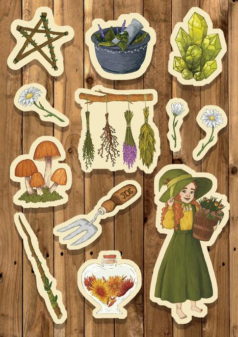green witch stickers.jpg