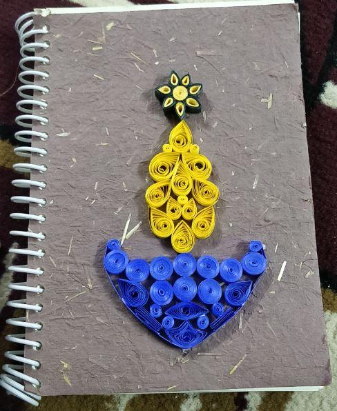 handmade Spiral Notebook