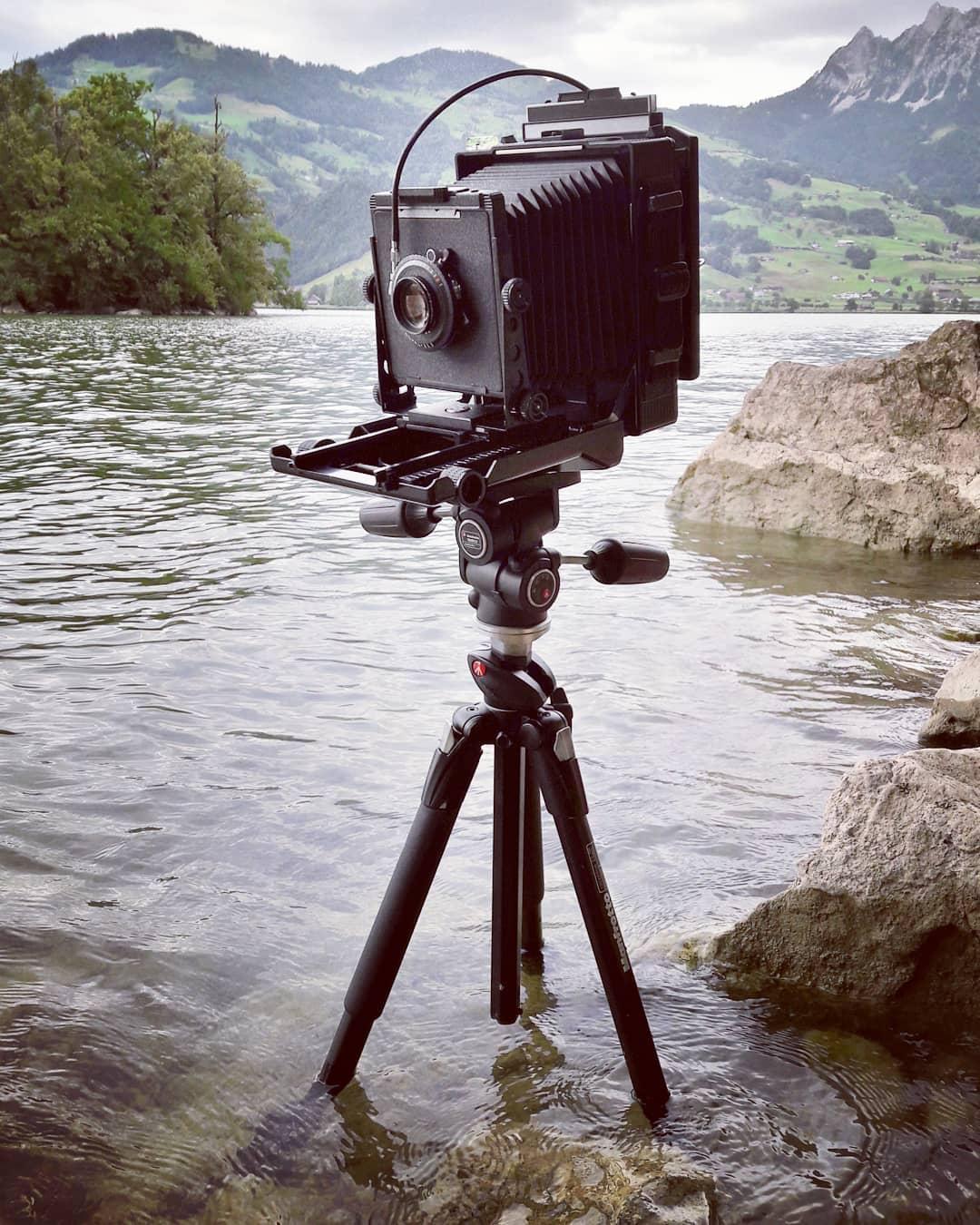 Toyo 45a Kamera