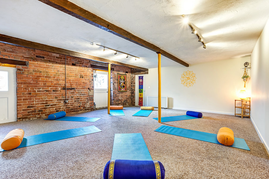 Inside the Yoga Tree Studio In Congleton