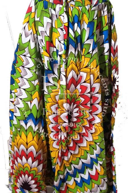 Spiral Charm Long Skirt