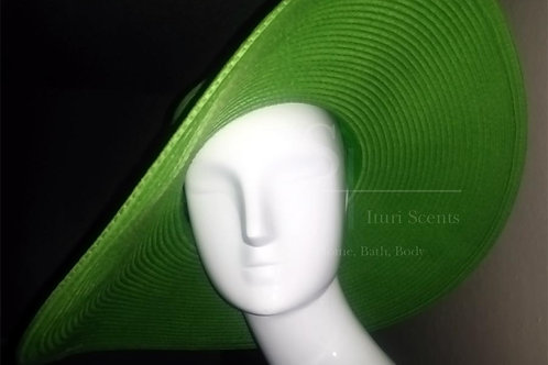 Green Floppy Sun Hat