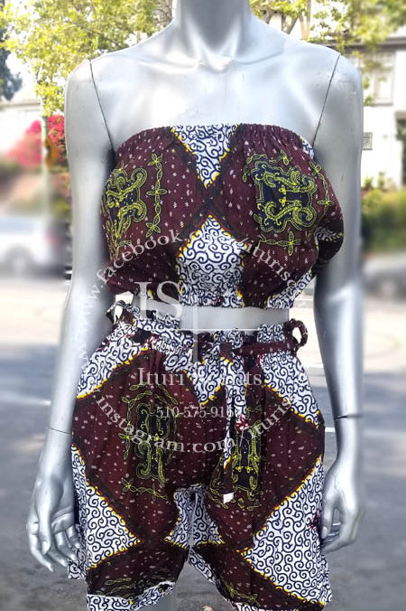 Ankara Short Set