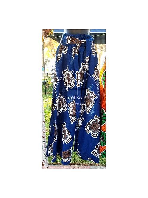 Blue Ankara Pants