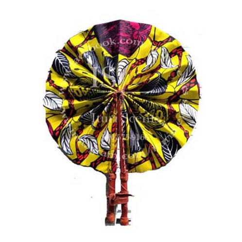 Yellow & Pink Fan