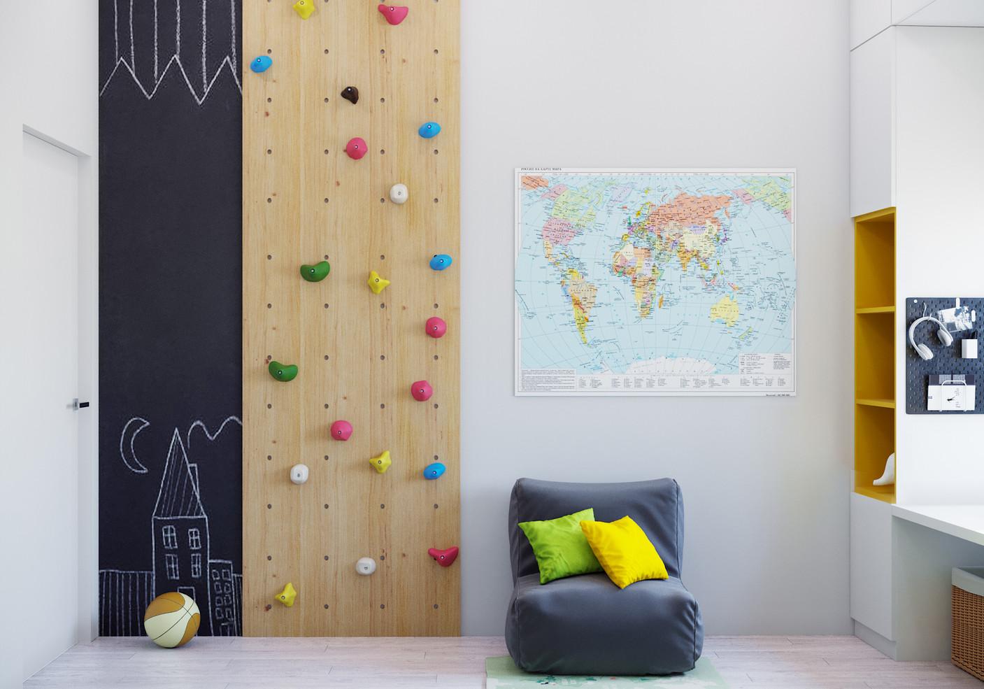 Декор детской стены