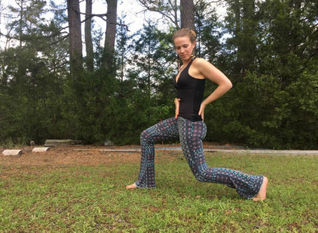 Align Your Crescent Lunge