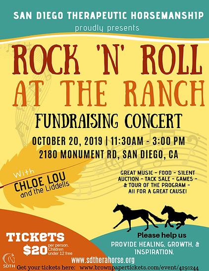 San Diego Therapeutic Horsemanship Rock