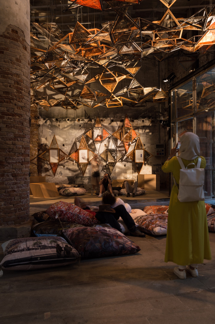 Pavilion by Elisabeth & MartinBoesch Architects at the Venice Biennale 2018