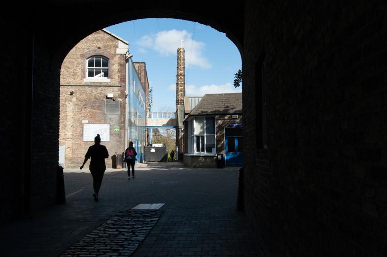 Entrance to NCAD campus, Dublin