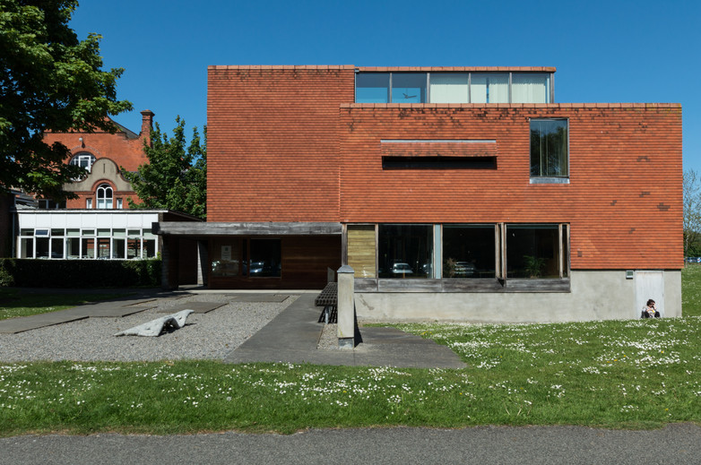 Front Elevation of the Urban Institute of Ireland, Dublin