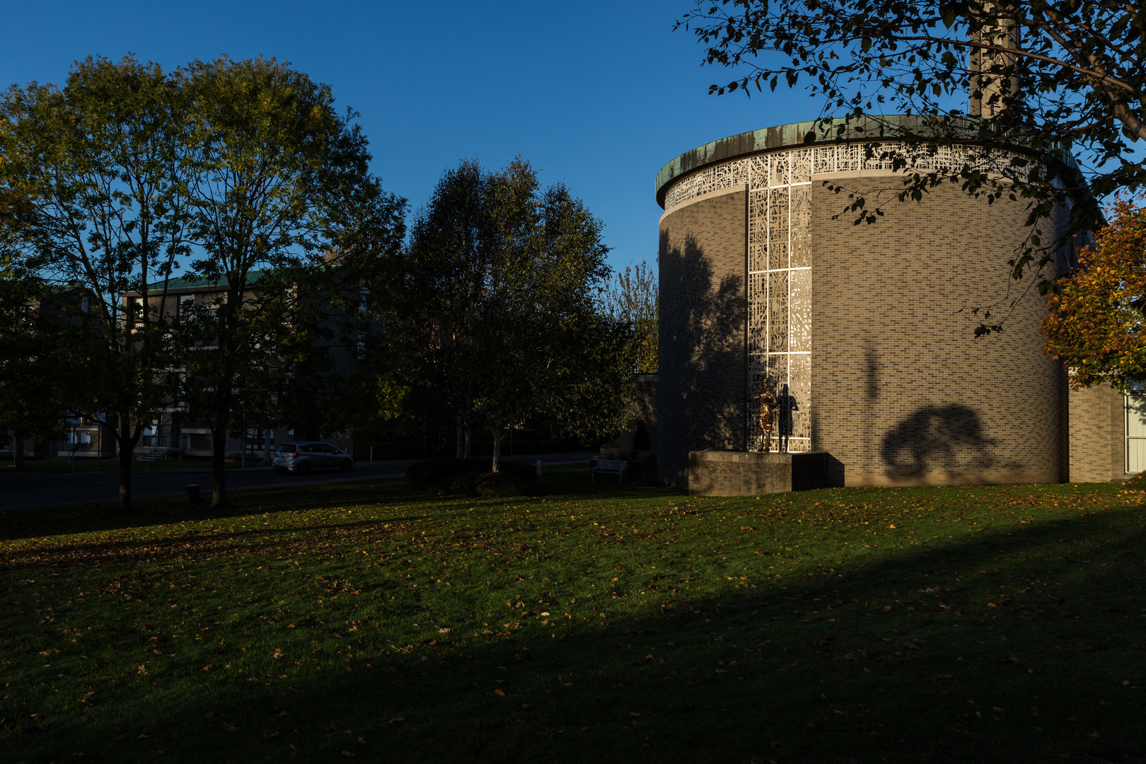 Exterior of Our Lady Seat of Wisdom Chapel, St.Pats, DCU, Dublin