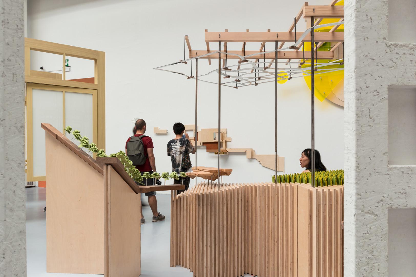 Pavilion by Bucholz McEvoy Architects at the Venice Biennale 2018
