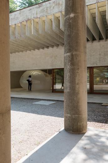 Exterior of Nordic pavilion at the Venice Biennale 2018