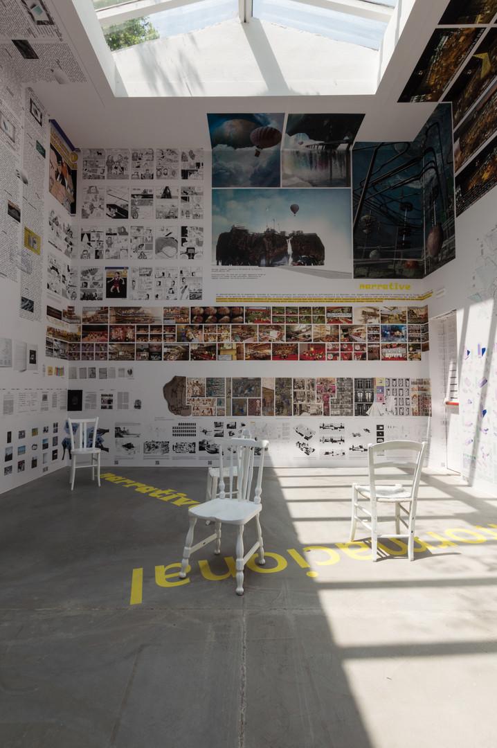 Interior of Spanish pavilion at the Venice Biennale 2018