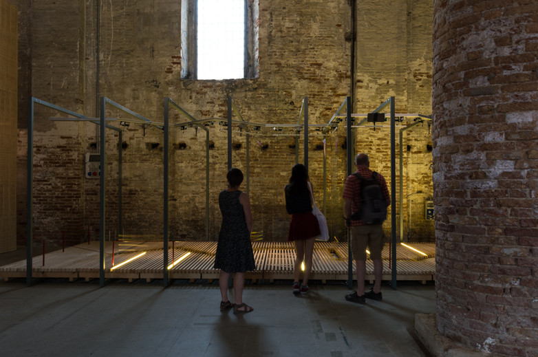 Pavilion of Riccardo Blumer at the Venice Biennale 2018